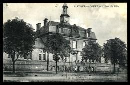 Cpa Du 08 Vivier Au Court  L' école Des Filles ...  Villers Semeuse  Charleville    6ao3 - Charleville