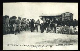 Cpa Du  88  Le Honneck Rencontre Du 15è Bataillon Chasseurs Et 171 è Infanterie Allemande     6ao3 - France