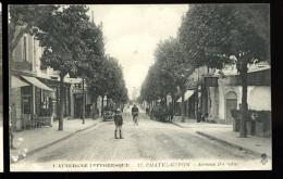 Cpa Du 63  Chatelguyon  Avenue Baraduc  ...  Chatel  Guyon   6ao2 - Châtel-Guyon