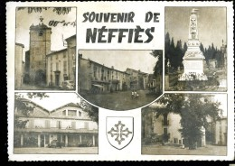 Cpsm Du  34 Souvenir De Néffiès  Multi Vues    6ao2 - Francia