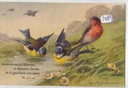 CPA ( Précurseur) - Thèmes - Illustrateurs - Motif Animal Repiquage Religieux Par  Catharina Klein - Klein, Catharina