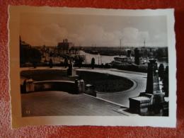 Stettin: Altes Original-Foto Ca. 9,0 Cm X 6,5 Cm, Blick Von Der Hakenterrasse. - Orte
