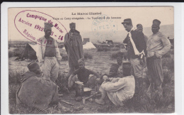 "MAROC - 1914 - CARTE En FM De FEZ Avec OBLITERATION ""REGION De FEZ"" - Marokko (1891-1956)"