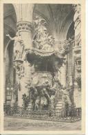 Brussels Chair Of Verity In Saint Gudule Church Bi-Lingual Card Edit H.P. 36 Grand Place Brux - Belgium