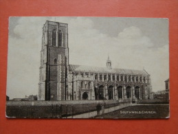 27223 PC: SUFFOLK: Southwold Church. (King George V One Penny Red Stamp). - Other
