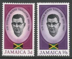 Jamaica. 1967 Sangster Memorial Issue. MH Complete Set - Jamaica (1962-...)