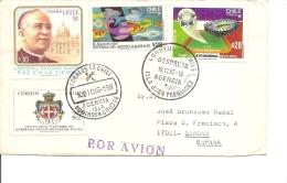 Chili ( Lettre Par Avion De 1986 Vers L'Espagne à Voir) - Chile