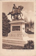 SIENA - MONUMENTO A GIUSEPPE GARIBALDI VG 1917 AUTENTICA 100% - Siena