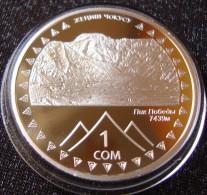 Kyrgyzstan 1 Som 2011 Mountain Peak Victory (Pobeda) - Kyrgyzstan
