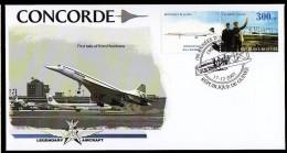 Guinea Guinée 2003 FDC Legendary Aircraft , Concorde Nice Cover.5 - Concorde