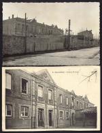 LOT 2 CPA ANCIENNES- FRANCE- OUVEILLAN (11)- LE GROUPE SCOLAIRE EN TRES GROS PLAN - Other Municipalities
