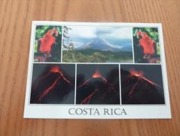 "CPM ""COSTA RICA - PARC NATIONAL VOLCAN ARENAL"" (multi-vues, Peroquet, Non Oblitéré) - Costa Rica"