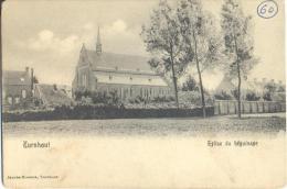 Op956:  TURNHOUT Eglise Du Béguinage - Jacobss-Brosens Turnhout... De Postzegel Is Weg.... - Turnhout