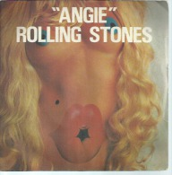 """45 Tours SP - THE ROLLING STONES - RS 19105  """" ANGIE """" + 1 ( 2ème Pochette ) - Other - English Music"""