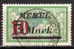 Memel 1923 Mi 121, Gestempelt [090913L] @ - Memelgebiet