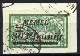 Memel (Klaipeda) 1922 Mi 63, Gestempelt [090913L] @ - Memelgebiet