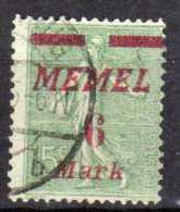 Memel (Klaipeda) 1922 Mi 111, Gestempelt [090913L] @ - Memelgebiet
