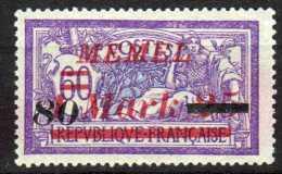 Memel (Klaipeda) 1922 Mi 120 * [090913L] @ - Memelgebiet