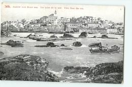 JAFFA : Vue Prise De La Mer. Dos Simple. 2 Scans. - Israel