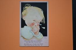 Mabel Lucie Attwell Baby Is Crying 1939 N° 252 Petit Jésus Aidez Moi à Pardonner à Mes Amis... - Attwell, M. L.