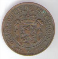 LUSSEMBURGO 2 1/2 CENTIMES 1870 - Lussemburgo