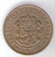 LUSSEMBURGO 2 1/2 CENTIMES 1901 - Lussemburgo