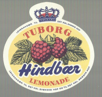 - **TUBORG  -HINDBOER      ** - LIMONADE - Fruits & Vegetables