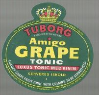 - **TUBORG  -Amigo  GRAPE Tonic.    ** - Frutas Y Legumbres