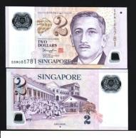SINGAPORE $2 2013 POLYMER DIAMOND MEDICINE SCHOOL UNC - Singapore