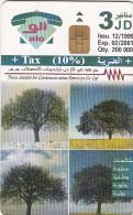 JORDAN - Calendar 2000, 12/99, used