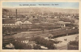 GIVORS VUE DE LA GARE 69 RHONE - Givors