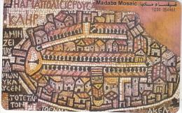 JORDAN(chip) - Madaba Mosaic, tirage 10000, 11/99, used
