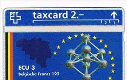SVIZZERA (SWITZERLAND) - PTT  (L&G)- 1993 ECU 3 BELGIUM ( TIRAGE 5000)  - MINT  -  RIF. 4078 - Svizzera