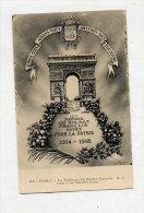 Carte Arc De Triomphe Tombe Soldat Inconnu - Arc De Triomphe