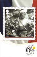 100ème Tour De France  -  Eugène Christophe  -  Isle Of Man Stampcard  -  Carte Postale - Cycling
