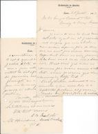 1912 - Lettre A Entête De L'ARCHEVÉCHÉ DE QUÉBEC - - Autres