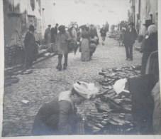 PHOTOGRAPHIE STEREO : SAULIEU MARCHE AUX SABOTS 26 SEPTEMBRE 1904 COTE-D´OR 21 - Photographs