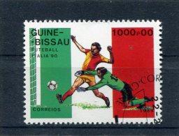 GUINEA-BISSAU. 1989. SCOTT 786. VARIOUS SOCCER PLAYERS - Guinée-Bissau