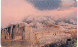 JORDAN(chip) - 3 Religions/Wadi Rum(puzzle 2/9), JPP telecard, 07/00, used