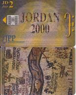 JORDAN(chip) - Madaba mosaics 2, JPP telecard, used
