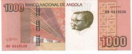 Novedad 1000 Kwanzas 2012 Angola Oferta Portes Puede Salir Qualquier Moment Neuf - Angola