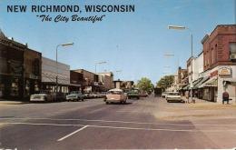 "New Richmond , Wisconsin  (USA)  "" The City Beautiful"" - Etats-Unis"