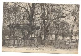 Vannes (56) :  Le Kiosque à Musique Sur La Promenad De La Rabine En 1919. - Vannes