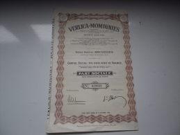 VERLICA MOMIGNIES - Non Classés