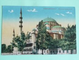CONSTANTINOPLE - Mosquée SULEYMANIE - Turquie