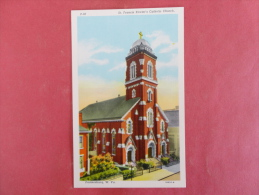 Parkersburg,WV--St. Francis Xavier's Catholic Church--not Mailed--PJ 248 - Vereinigte Staaten