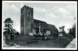 cpsm  Angleterre the Church Blakenham ....  Ipswich    6ao36
