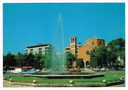 E2863 Teramo - Piazza Garibaldi - Fontana - Auto Cars Voitures / Non Viaggiata - Teramo