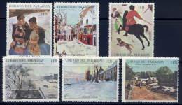 Paraguay  1079-84 (**)  Mint Nh - Paraguay
