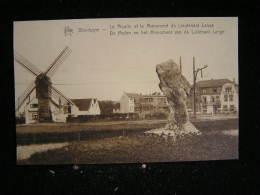 W- 8 / Wenduyne - Le Moulin Et Le Monument Du Lieutenant Lange  / Circulé En 1945 .- - Wenduine